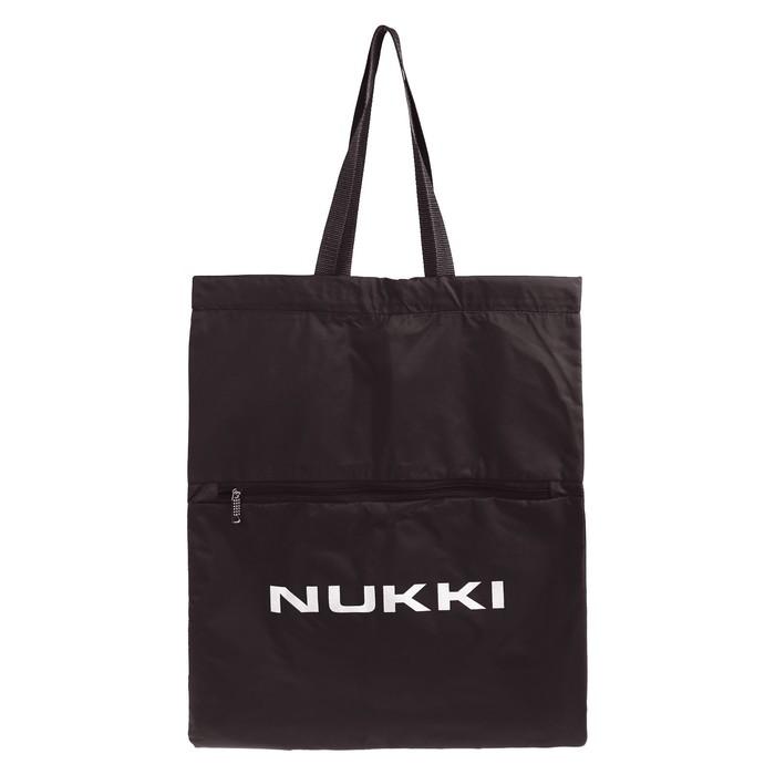 Сумка-рюкзак Nukki №63 51*41 см, коричневый