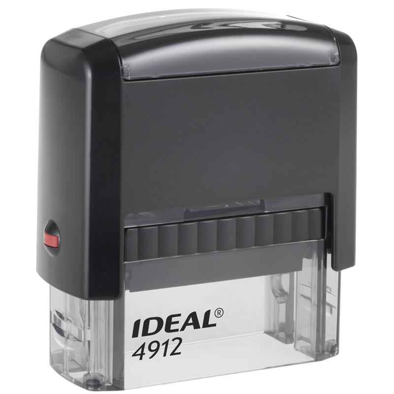 Оснастка для штампа Trodat 4912 Ideal, 47*18мм, пластик (125420)