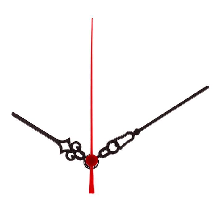 """Комплект из 3-х стрелок для часов """"Вензель"""", 61/87/85 мм"""