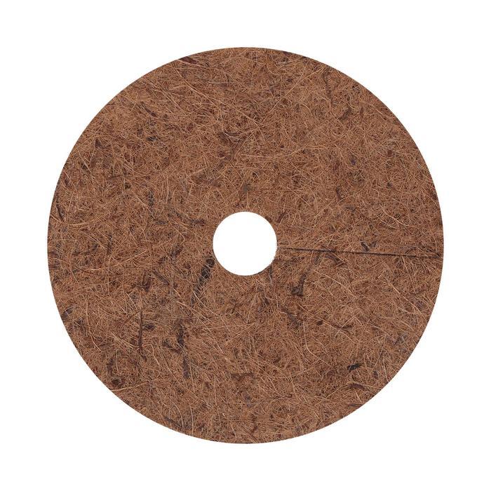 Круг приствольный, d = 25 см, из кокосового полотна с натуральным латексным клеем