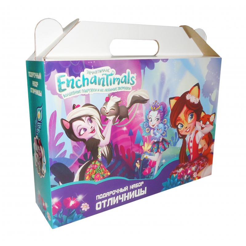 Набор отличника Enchantimals, подар.короб, 90076