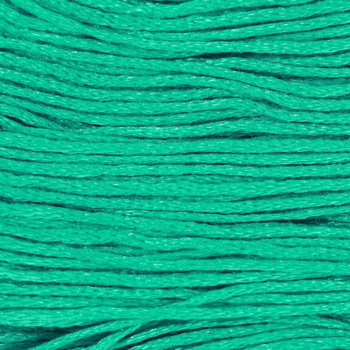Нитки мулине, 8 ± 1 м, цвет ярко-зелёный №943