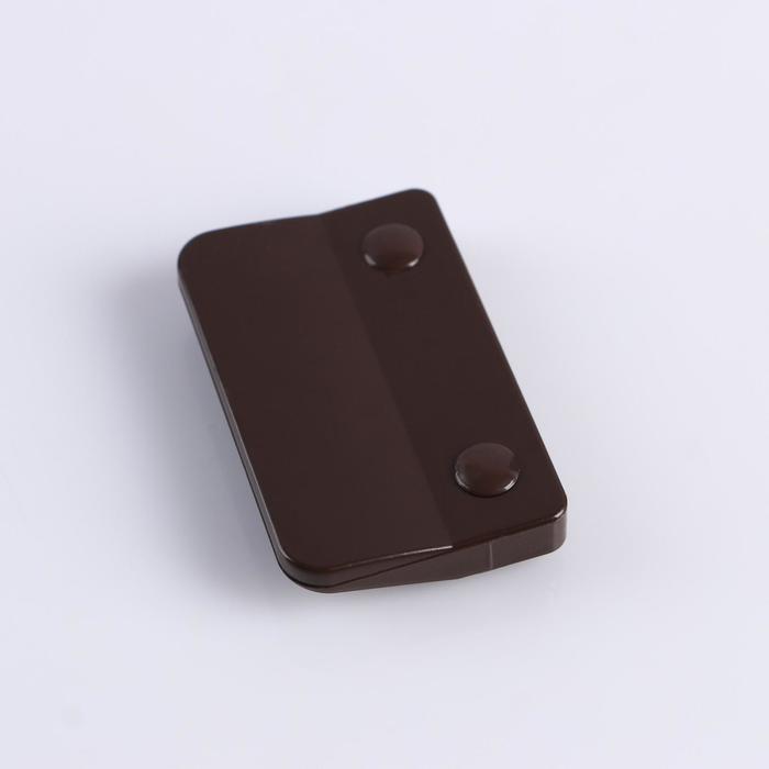 Ручка балконная обратная коричневая