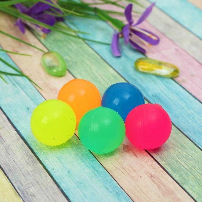 Мяч однотонный, 2,5 см, цвета МИКС