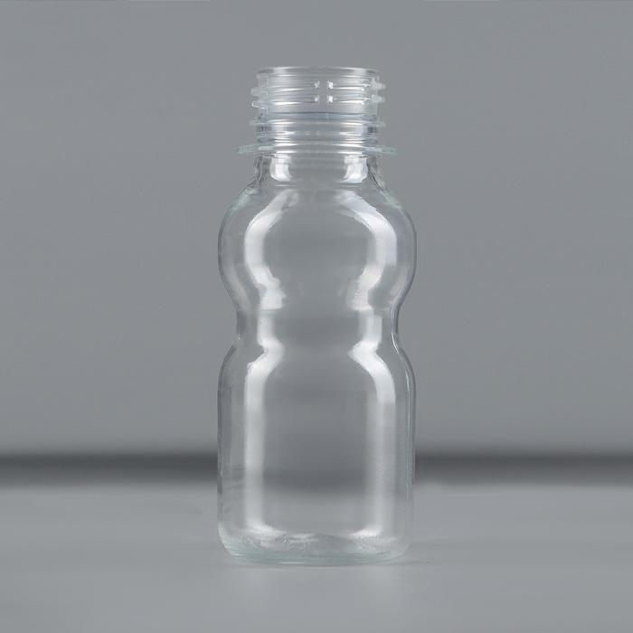 Бутылка одноразовая «Матрёшка», 70 мл, ПЭТ, без крышки, цвет прозрачный
