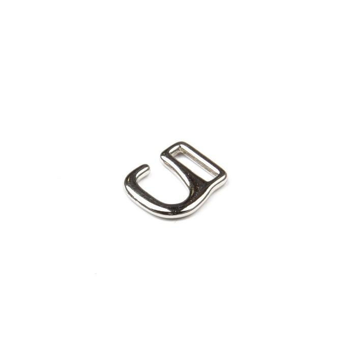 Крючки для босоножек, 6 мм, цвет никель