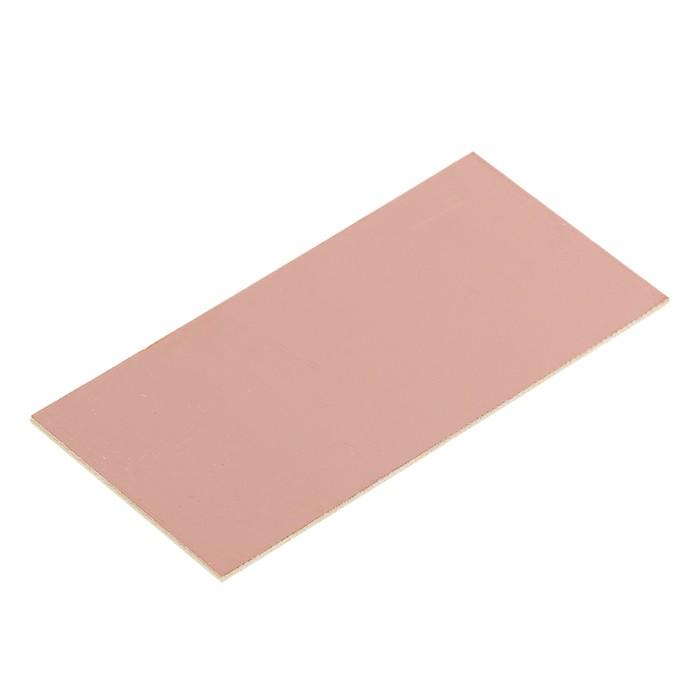 Стеклотекстолит REXANT, односторонний, 100x50x1.5 мм, 35 мкм