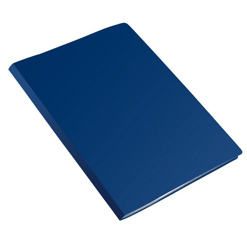Папка с зажимом метал. Attache 15мм экономи 0,4 синий