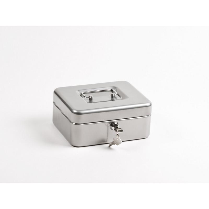 Метал.Мебель Office-Force Т32 Кешбокс10032 ключ,сереб200х160х90