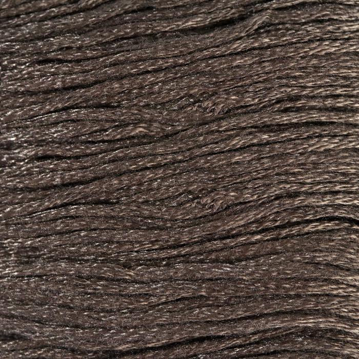 Нитки мулине, 8 ± 1 м, цвет тёмно-коричневый №844