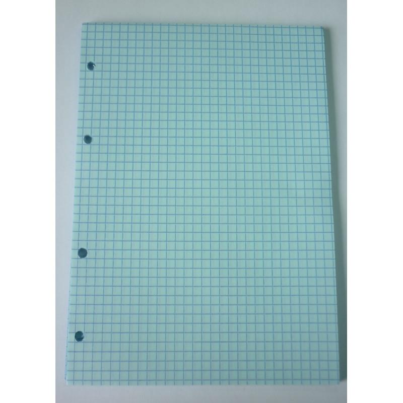 Сменный блок тонир,голубой,50л,А5