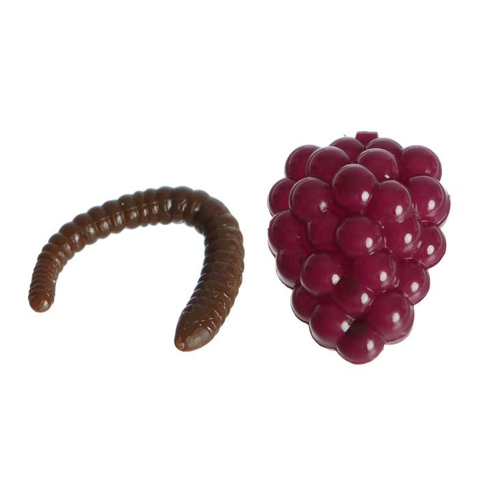 Прикол «Виноград», внутри насекомое