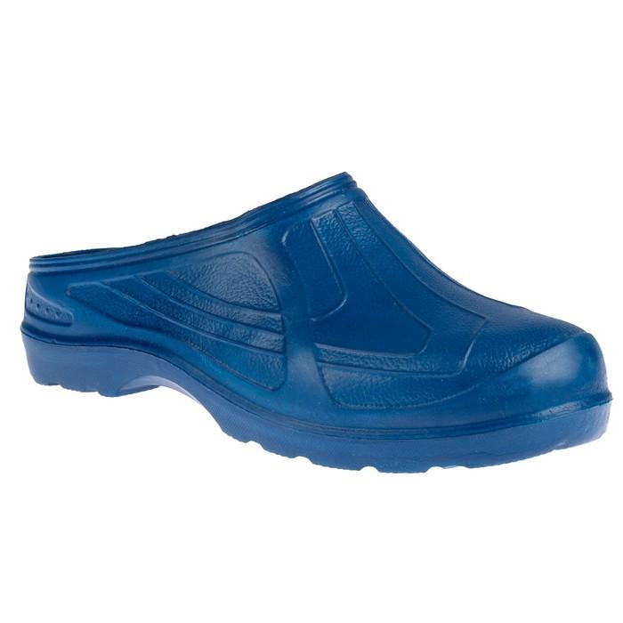 Галоши САБО мужские ЭВА арт. 083-001-02, цвет синий, размер 42