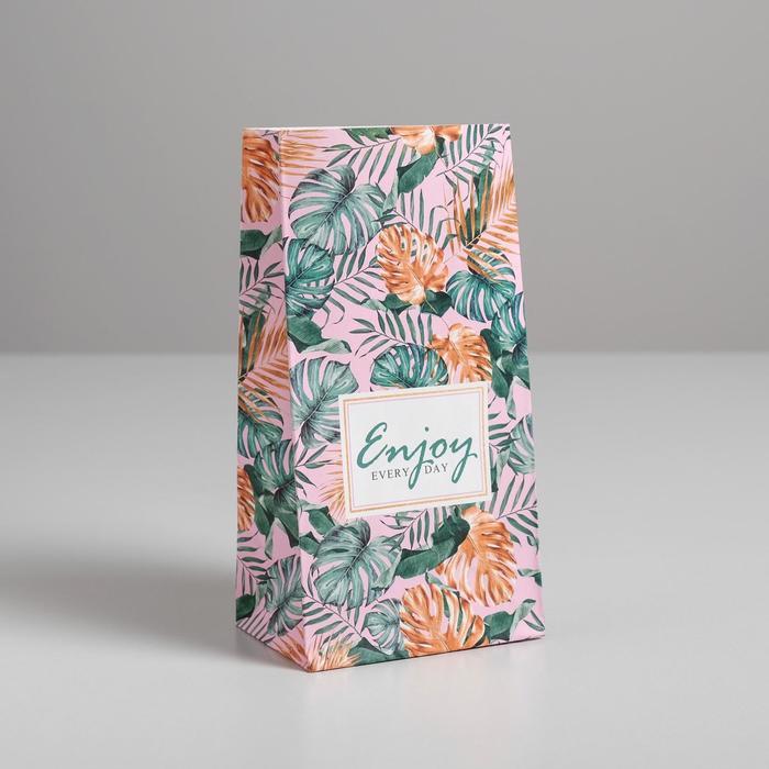 Пакет подарочный без ручек Enjoy, 10 ? 19.5 ? 7 см