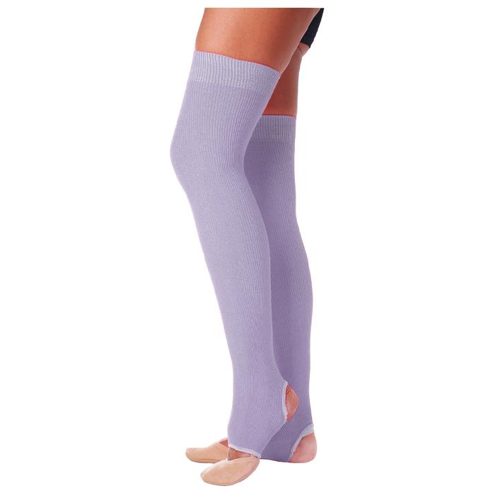 Гетры для танцев №5, без носка и пятки, L= 60 см, цвет сиреневый