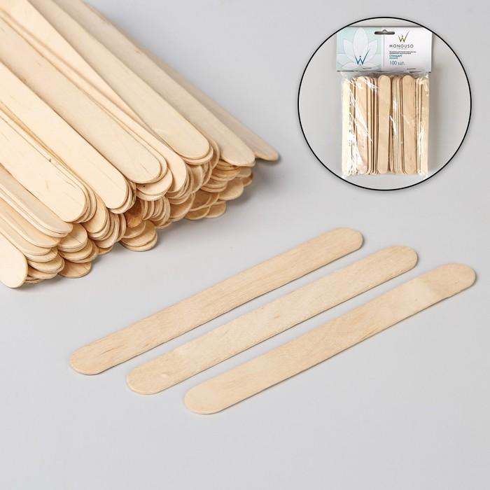 Шпатель для депиляции, деревянный, 14 ? 1,4 см