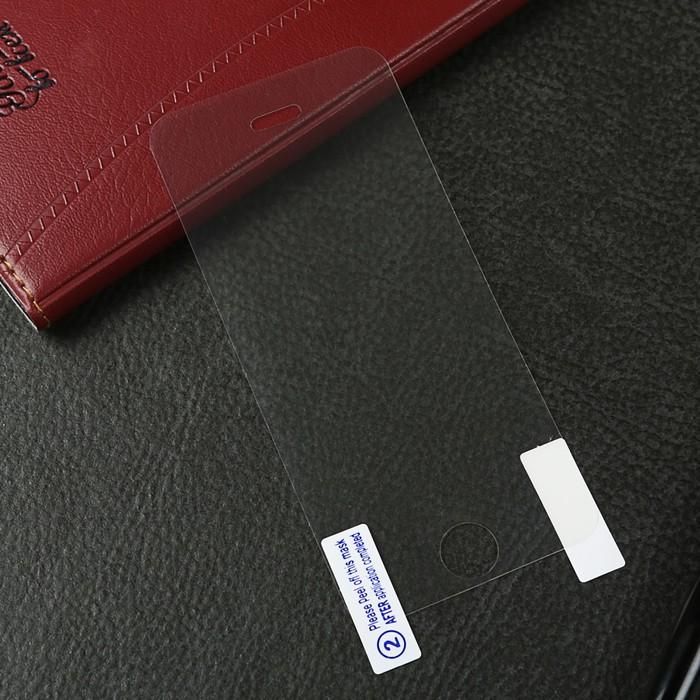 Защитная пленка LuazON, для iPhone 5/5S/5C/SE, матовая