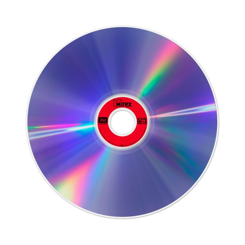 Носители информации DVD+R DoubleSide, 8x, 9.4Gb, Mirex, Slim/1, UL130042A8S