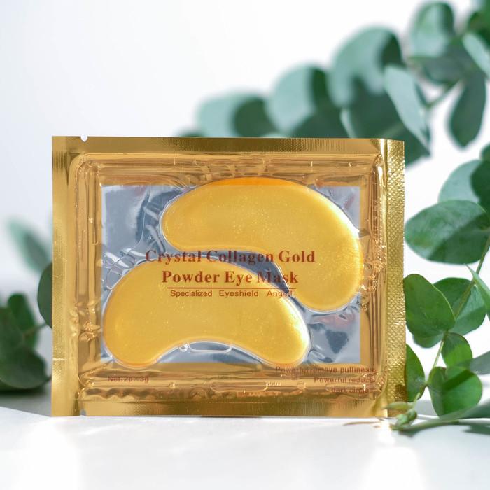 Патчи гидрогелевые для глаз Collagen Crystal, золотые, 2*3 г