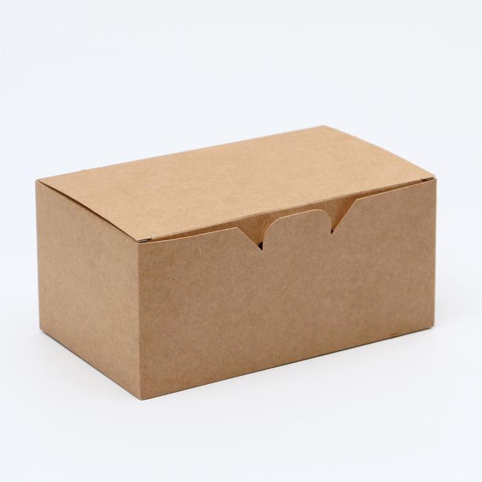 Упаковка для наггетсов, куринных крыльев, 15 х 9,1 х 7 см
