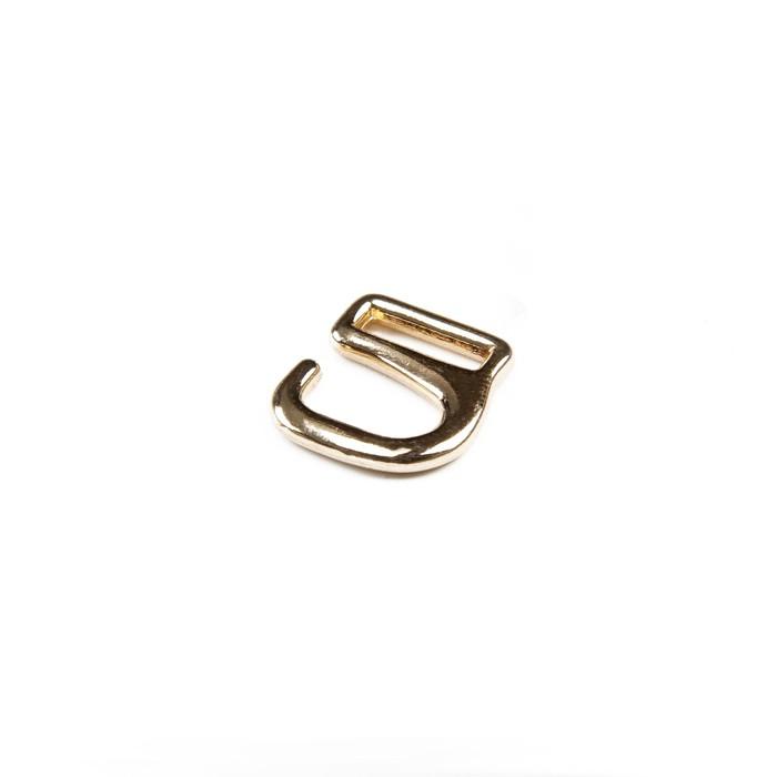 Крючки для босоножек, 10 мм, цвет золото