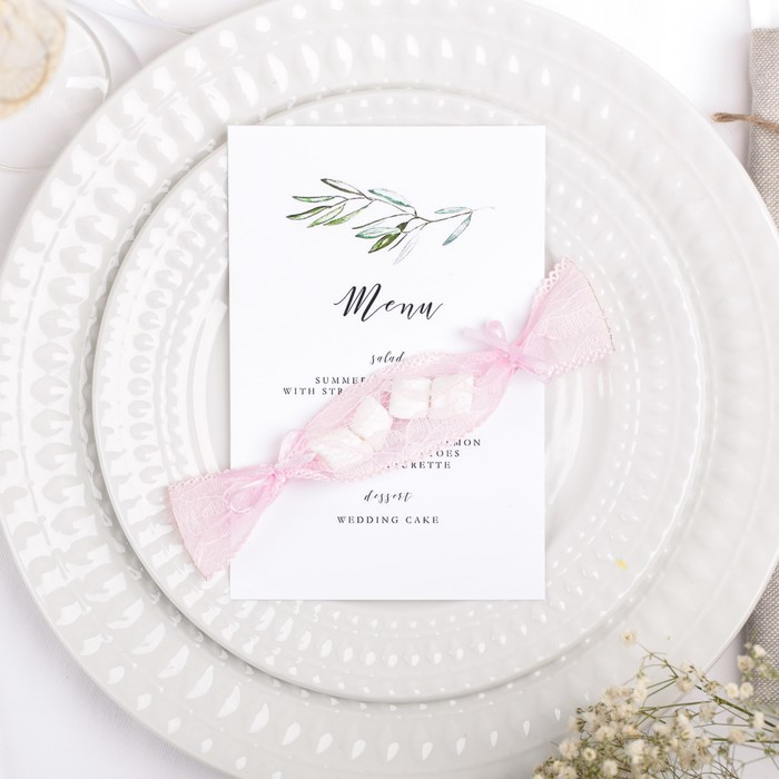 """Набор для сервировки стола """"Бонбоньерки"""", розовый, 3 шт"""