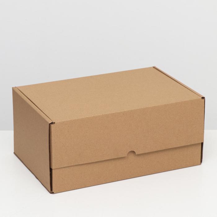 """Коробка самосборная """"Почтовая"""", бурая, 40 х 27 х 18 см,"""