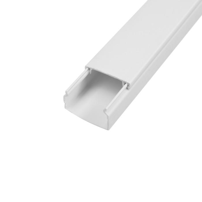 Кабель-канал EKF Basic, 2 м, 25х16 мм, белый