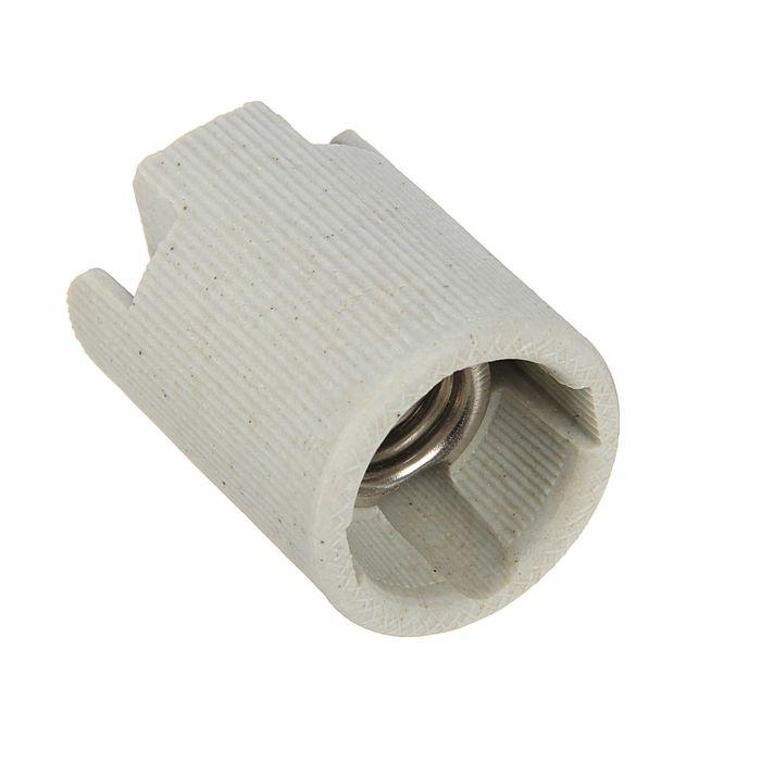 Патрон электрический LLT, Е14, керамический. миньон