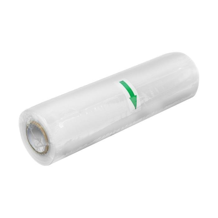 Пакеты для вакуумного упаковщика LuazON, в рулоне 20х500 см, 90 мкм, прозрачные