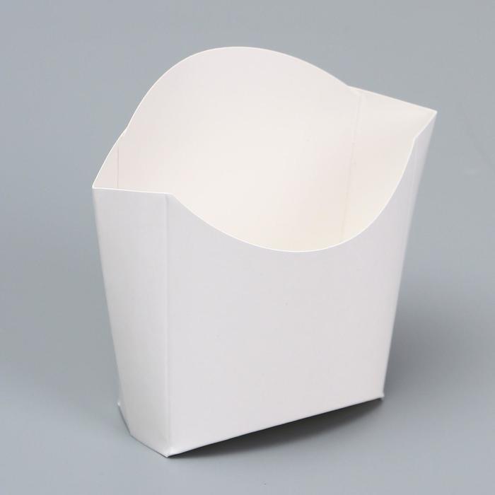 Упаковка для картофеля фри 150 г, без печати