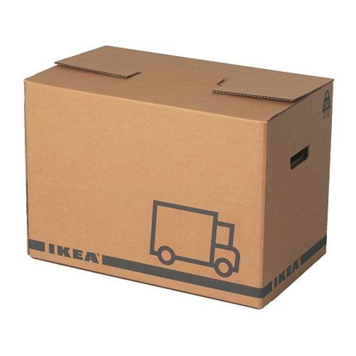 Упаковочная коробка, 2 шт, цвет коричневый ЭТЭНЕ