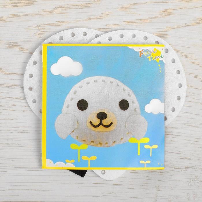 Набор для создания игрушки из фетра «Морской котик»
