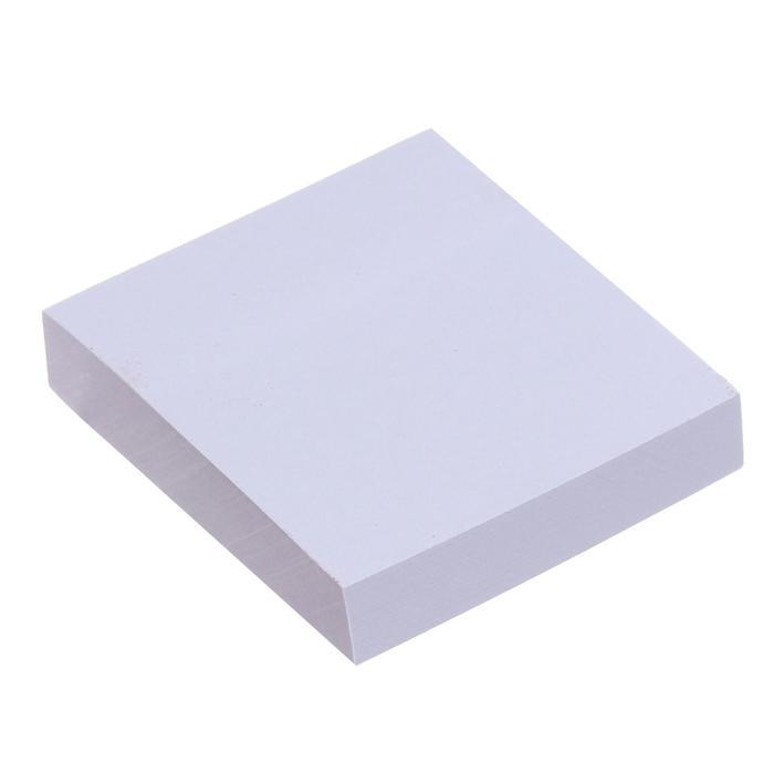 Блок с липким краем 51мм*51мм 100л белый