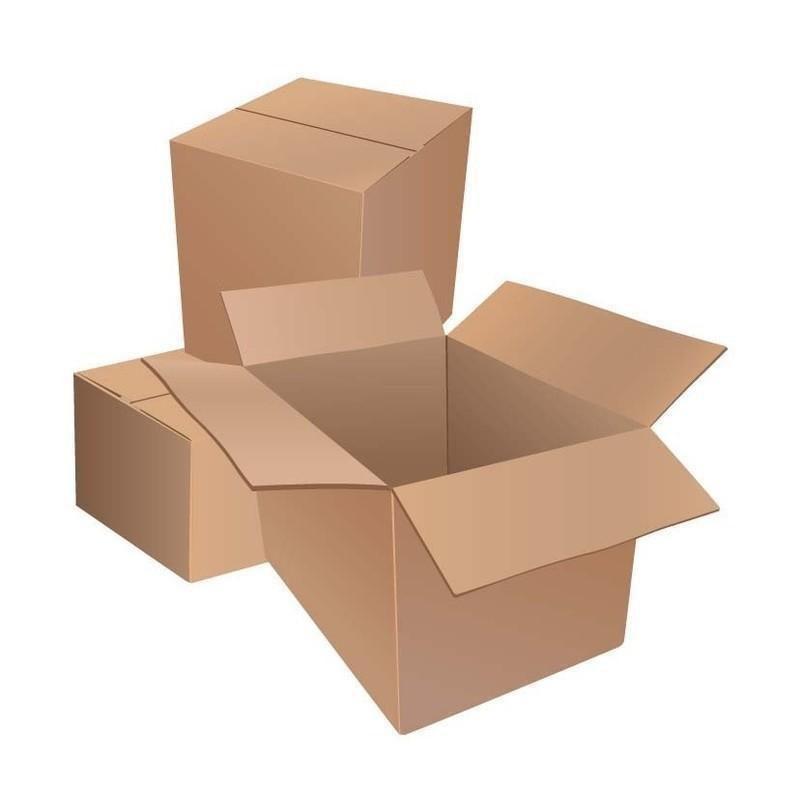 Короб картонный 180х150х85, Т22 бурый 10 шт./уп