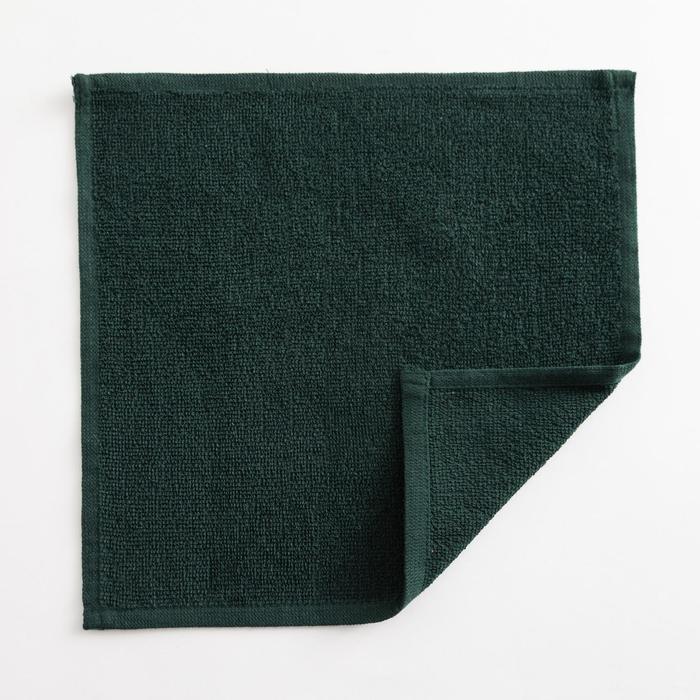 Полотенце махровое Экономь и Я 30х30 см, цв. эвкалиптовый, 100%хл, 260 гр/м2