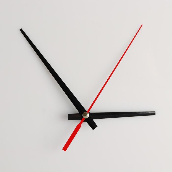 Комплект из 3-х стрелок для часов черные 63/95 (1092) (фасовка 100 наборов)