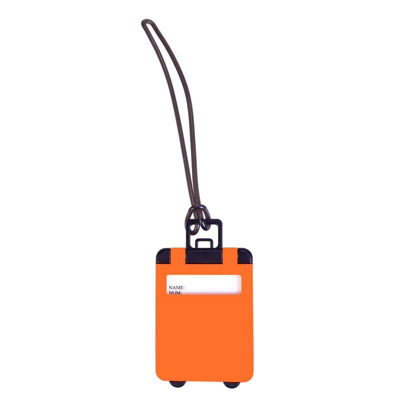 Бирка для багажа Trolley, оранжевая 5603.20