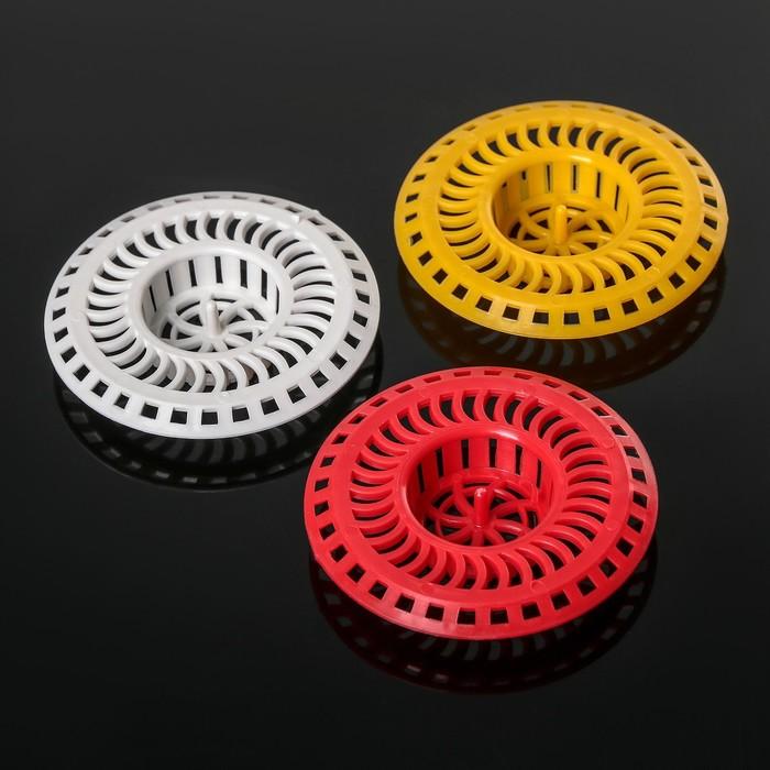 Фильтр для раковины INSTAR, d=8 см, цвет МИКС