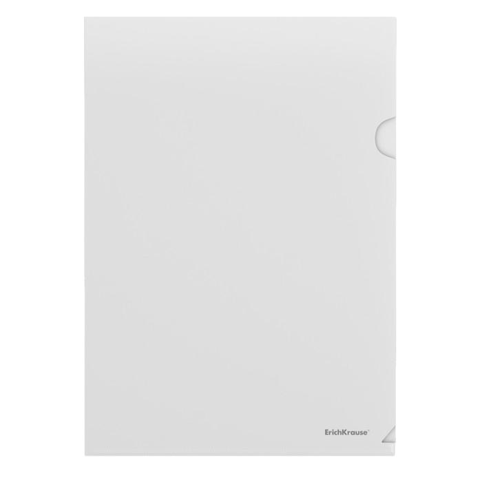 Папка-уголок А4, 120 мкм Erich Krause Fizzy L-File, вместимость 80 листов