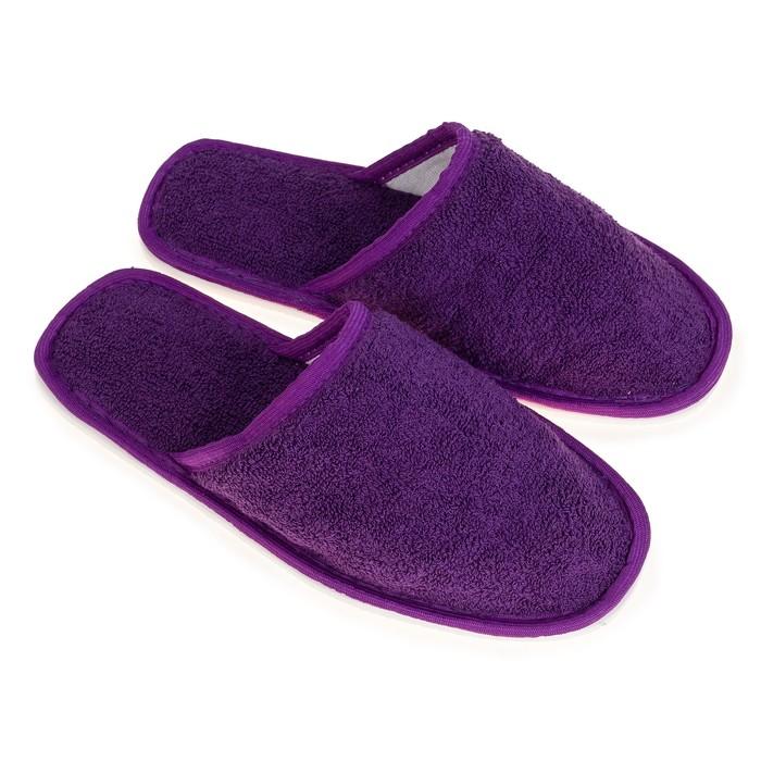 Тапочки детские TAP MODA арт. 39, фиолетовый, размер 34