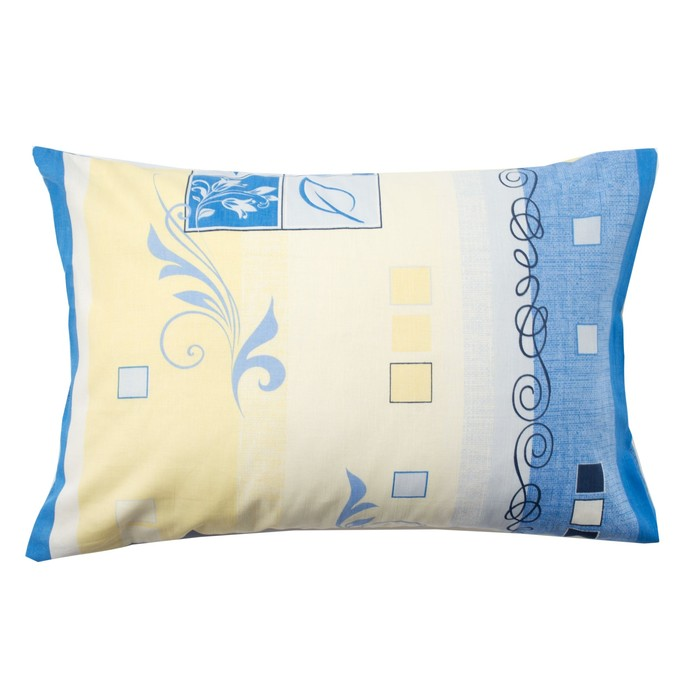 Наволочка Экономь и Я «Винтаж», цвет синий, размер 50х70 см, бязь