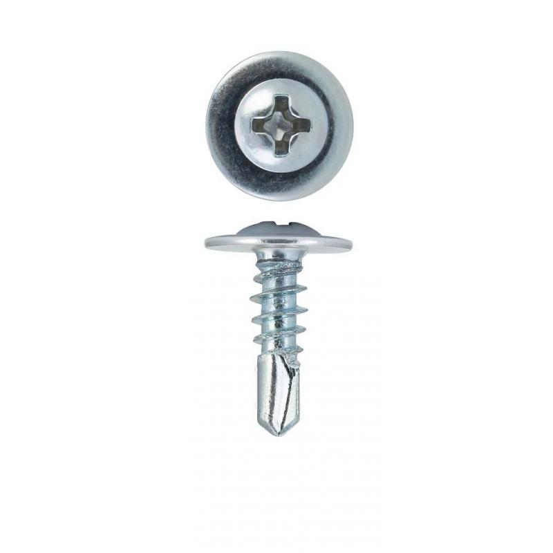 Саморезы с ПШ по металлу сверло 4,2х13 18 шт/уп пакет Tech-Krep 102397