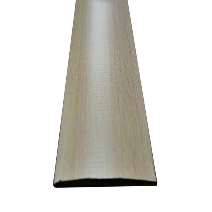 Наличник МДФ полукруглый Беленый дуб 7,5x70x2150