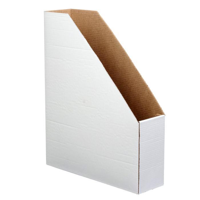 Накопитель архивный 75 мм, OfficeSpace, белый