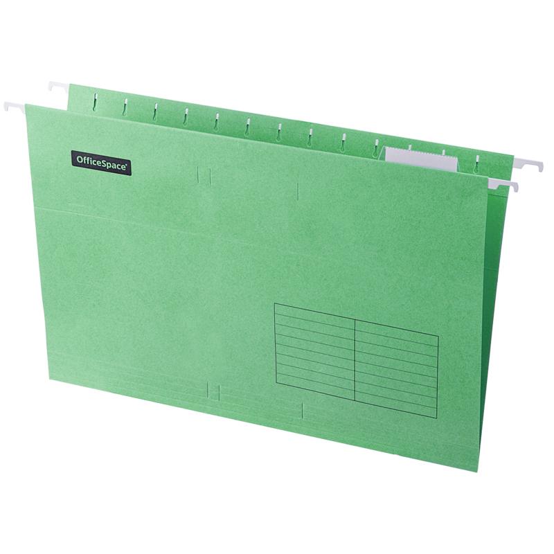 Подвесная папка OfficeSpace Foolscap (365*240мм), зеленая