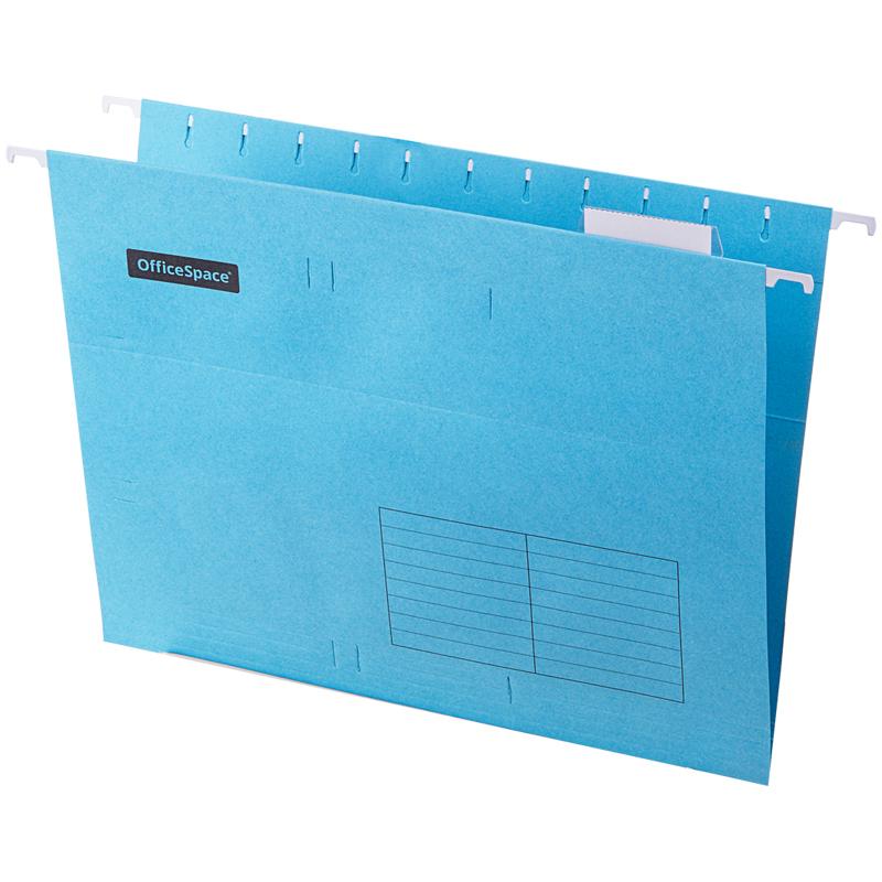 Подвесная папка OfficeSpace А4 (310*240мм), синяя