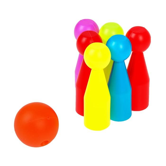 Боулинг «Весёлый шар», высота кегли 9,7 см