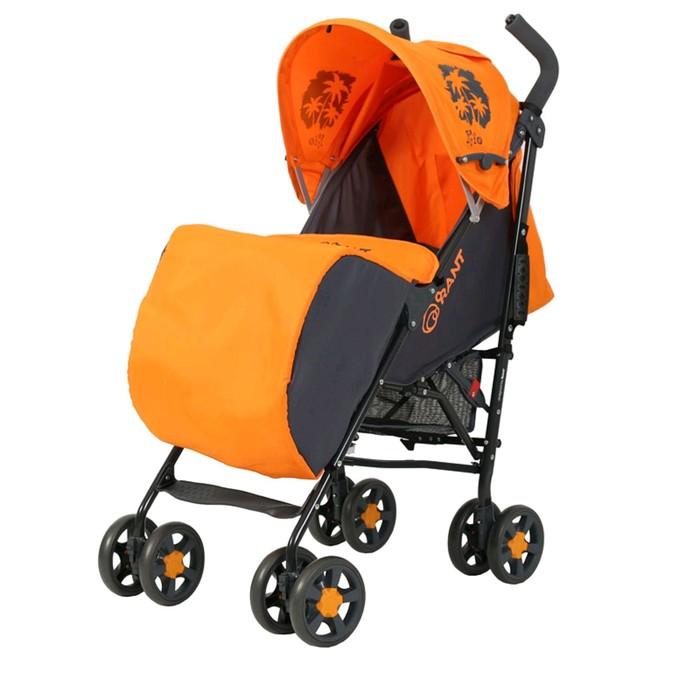Коляска-трость RANT Rio Plus, цвет orange