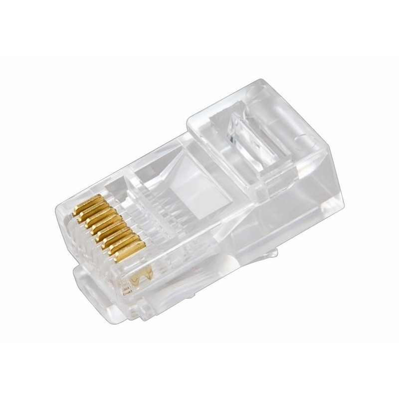 Джек RJ-45 8P8C CAT 5e $Эконом$ PROCONNECT (100шт/упак)